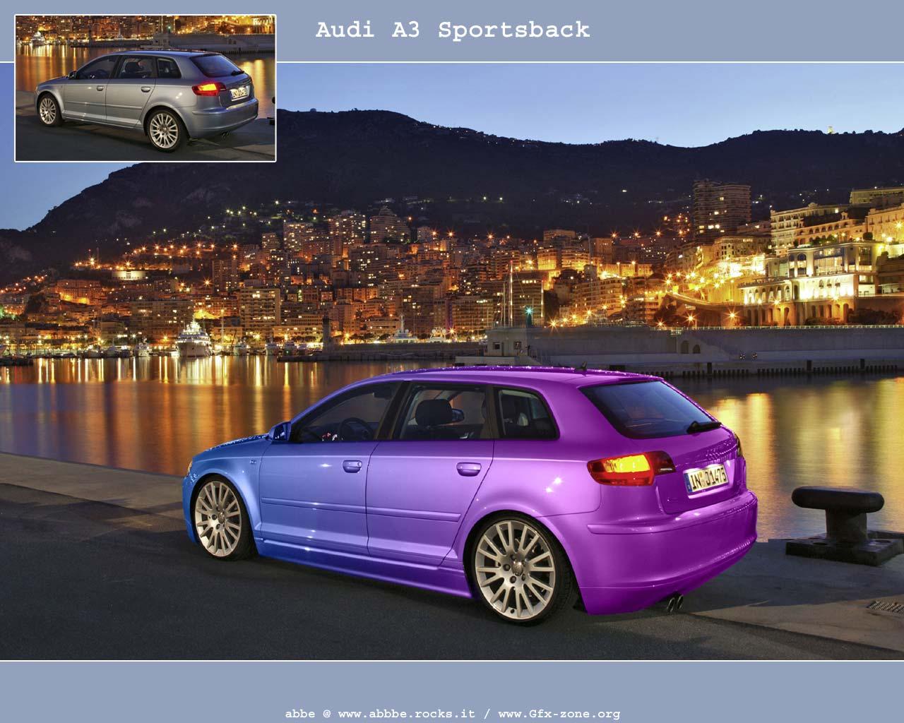 best sport car the future cool cars of audi a3 sportback. Black Bedroom Furniture Sets. Home Design Ideas